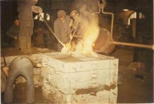 1964-2 Fonderies foundry FAPMO, outreau, constructeur francais pompes, atelier pompes, fabrication pompes,   usinage pompes, IFS